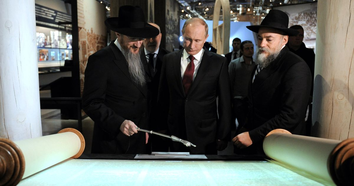 Putin's Favorite Rabbi