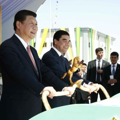 Central Asia's North Korea Hits the Gas to Find New Friends