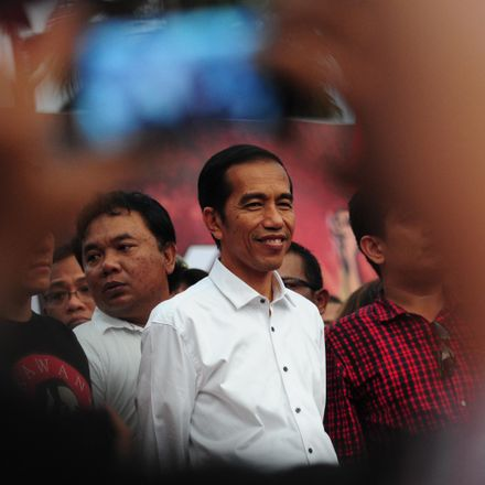 Joko Widodo the president of Indonesia