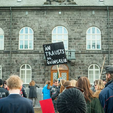 Iceland protest