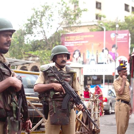 india guard getty images 482269214
