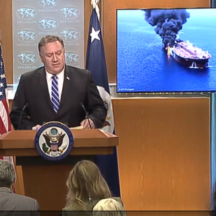 Oman gulf tanker pompeo vidcap us state department