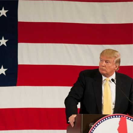 trump flag square shutterstock 283689917