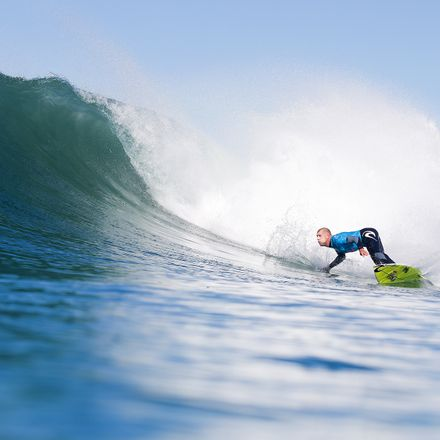 Mick Fanning of Australia, who was attacked by a shark while surfing.