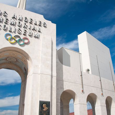 Los Angeles Memorial Coliseum shutterstock 111003128