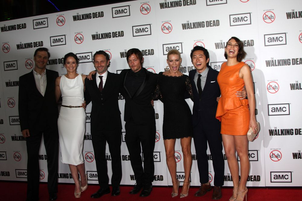 The Walking Dead cast shutterstock 114684556