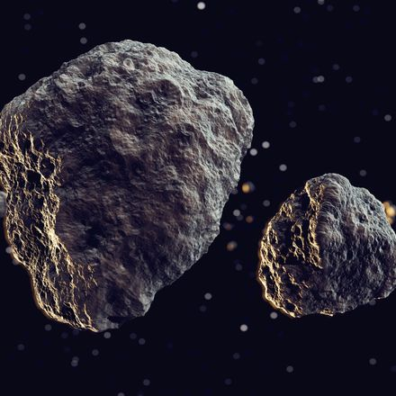 Asteroids in space shutterstock 140788450