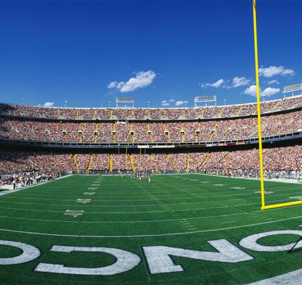 Denver Broncos Mile High Stadium shutterstock 177979208