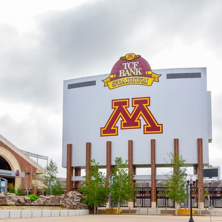 TCF Bank Stadium Minnesota football shutterstock 204678472