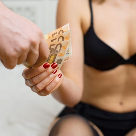Prostitute with euros shutterstock 368328881