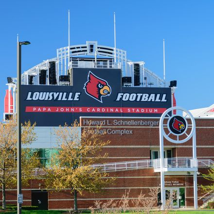 Louisville football stadium shutterstock 401467024