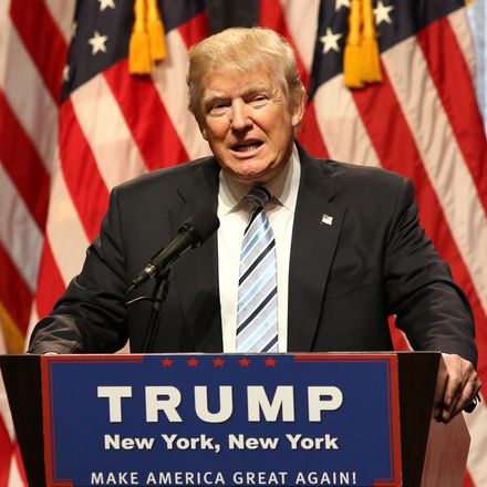 Donald Trump wince New York news conference shutterstock 460918762