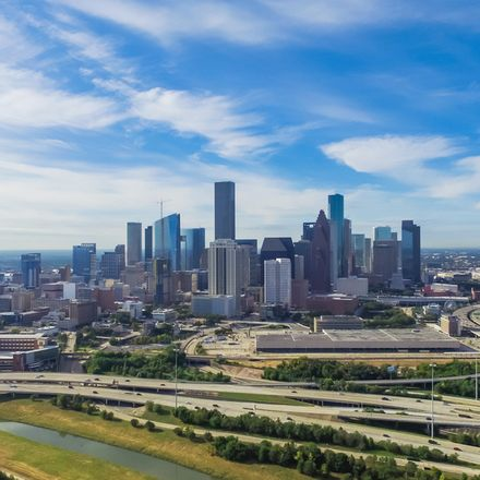 Houston Texas highway skyline shutterstock 505263937