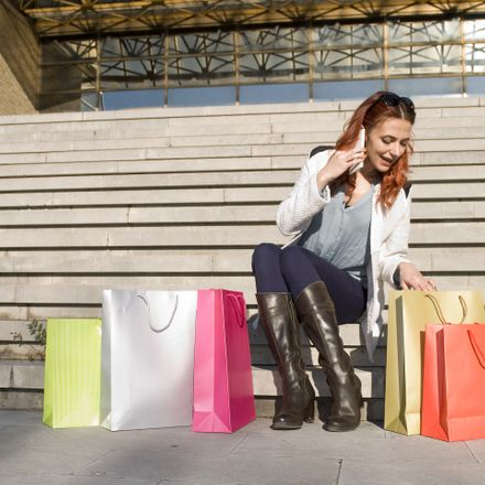 woman with shopping shutterstock 521146228