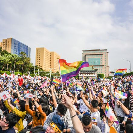 same-sex marriage supporters taiwan shutterstock 533984752
