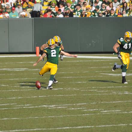 Green Bay Packers Mason Crosby shutterstock 55459225