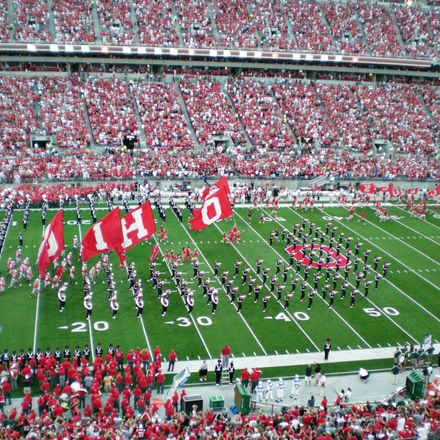 Ohio State stadium football band shutterstock 60451909