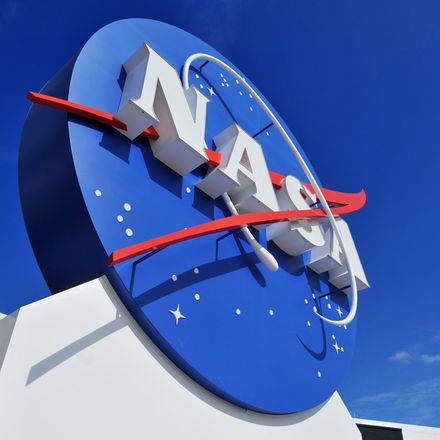 NASA logo Kennedy Space Center shutterstock 70213219