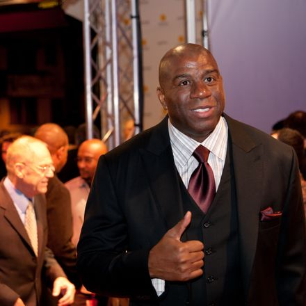 Magic Johnson shutterstock 90458965
