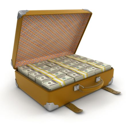 suitcase of cash money shutterstock 265401362