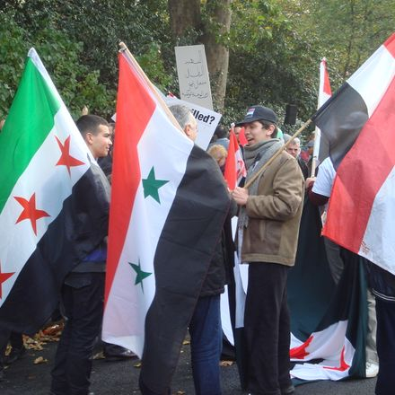 syria flags 6292269719 e0c1a73518 o 2