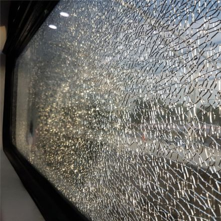 train wreck passenger broken glass shutterstock 714357532