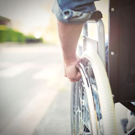 wheelchair shutterstock 415018102