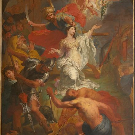 godfried maes the beheading of saint dymphna wikimedia commons