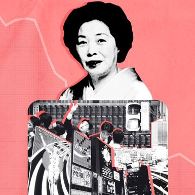 She Bilked Japan's Banks in the Run-Up to the Lost Decade