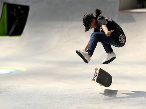 Super Young Females Take Skateboarding by Storm