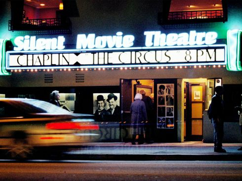 When a Silent Movie Theater Owner Was Silenced ... Mid-Movie