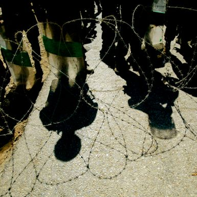 Getting My Head Kicked In — in the Palestinian Territories