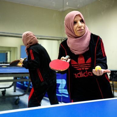 Is This Table-Tennis Champ Held Back … for Being a Mom?