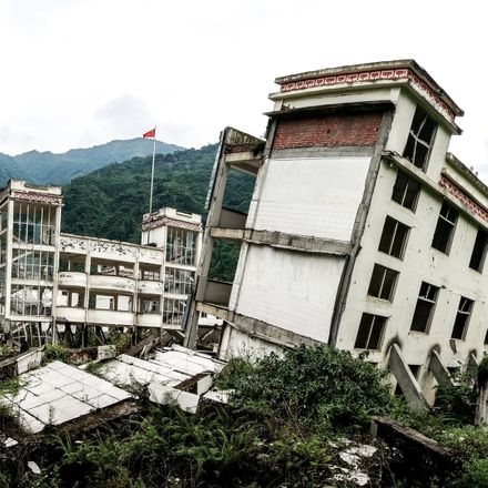 earthquake china building shutterstock 1466228819