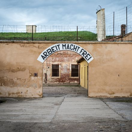 theresienstadt concentration camp nazi holocaust shutterstock 1305189871