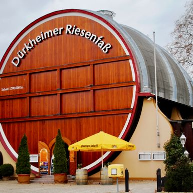 Dining Inside a Giant Barrel on Germany's Wine Road