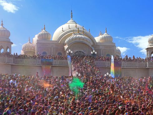 The Krishna Temple Thriving in Mormon Country