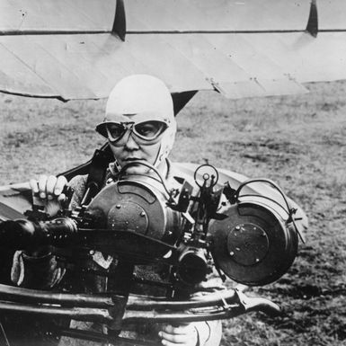 The World's First Female Fighter Pilot Had a Dark Side