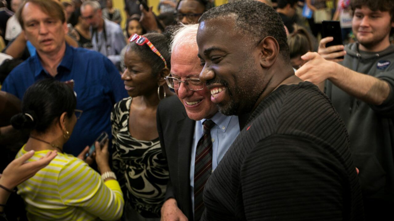 Bernie Sanders Meets His Final Nomination Hurdle: Black Voters