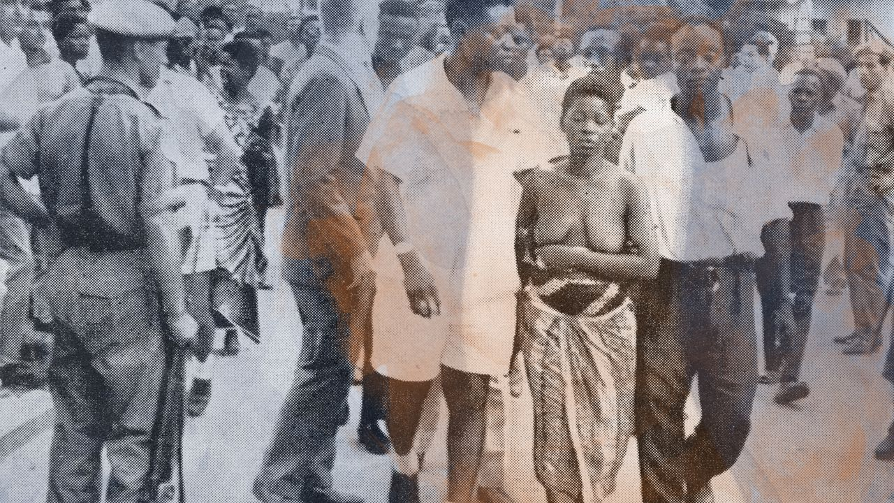 The Widow Who Led a Bare-Chested Protest Against an Assassination