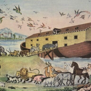 The History of Finding (or Building) Noah's Ark