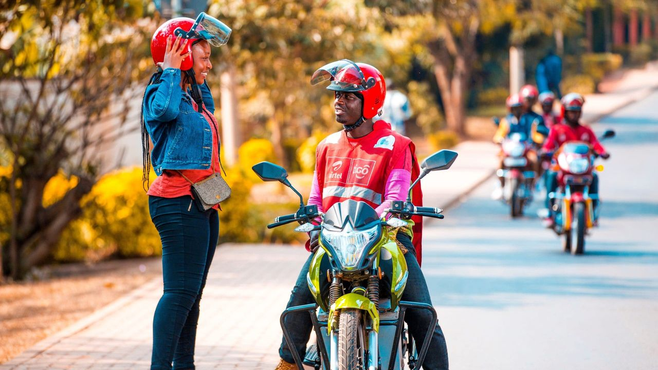 Can Motorbike Taxis Fix Africa's E-commerce Problem?
