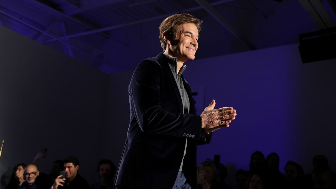 Dr. Oz, as You've Never Seen Him Before!